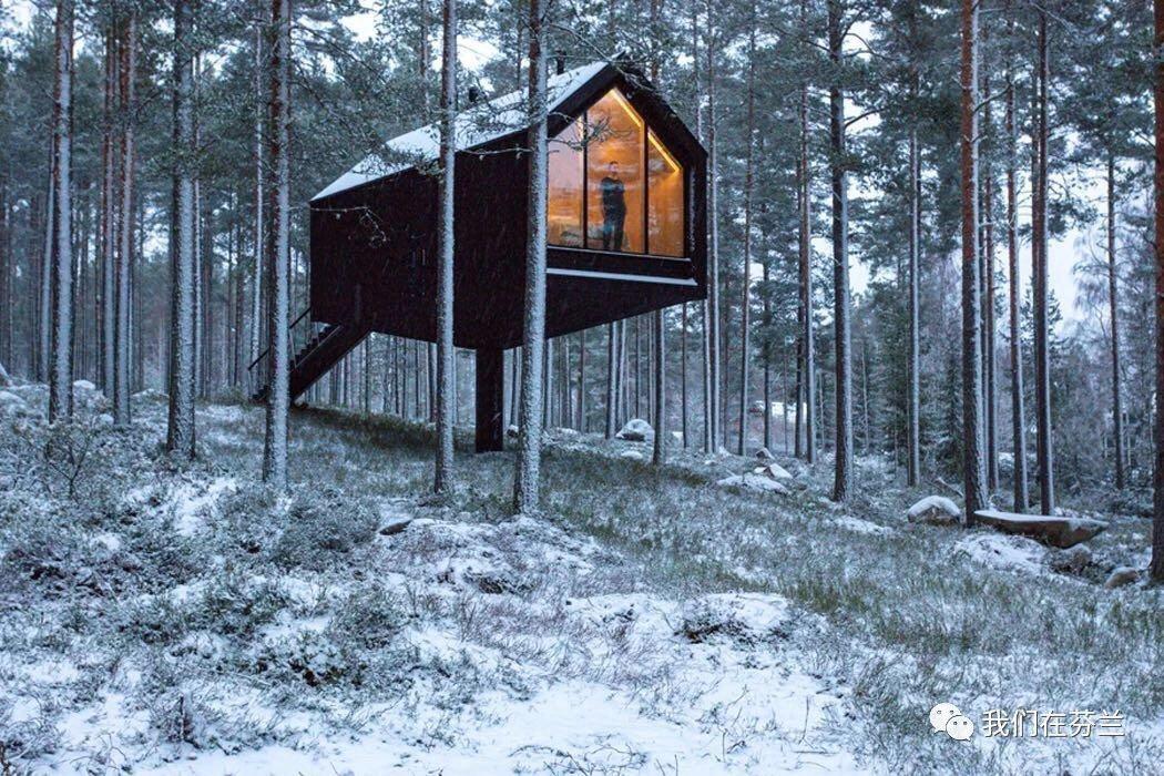 芬兰StudioPuisto最新项目:Niliaitta(小木屋)